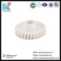 Plástico cnc máquina de corte processo/rolamento plástico processo