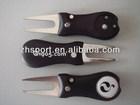 Golf Divot Repair Switchblade Tool / Ball Marker