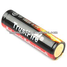 Trustfire 18650 3000mAh rechargeable battery for vamo v5 vv mod/nemesis mechanical vaporzier