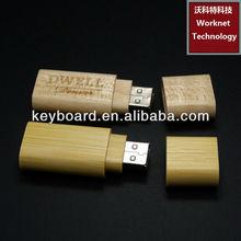 factory creative designbamboo usb flash drive -Andy