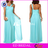 Plus SIze One Shoulder Ruched Cheap Chiffon Long Indian Prom Dresses