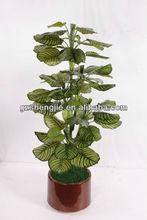 mini bonsai,bonsai pot,2014 new design wholesale artificial emerald green apple tree bonsai