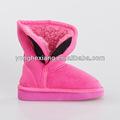La nieve del invierno botas/tela de gamuza superior/suela de eva para las niñas