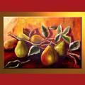 atacado moderna ainda pinturas da vida de frutas