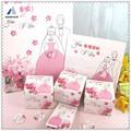 de montaña 2014 elegante láser de corte de papel del arte de invitaciones de boda