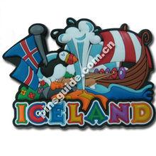 Promotion Free Design Soft PVC 3D Souvenir Fridge Magnet For Different Countries