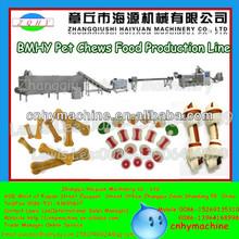 2014 New Jinan Flavored Squeaky Dental Corn Starch Antler Dog Chew Machine