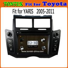 "in dash 6.2 "" double din car dvd gps for toyota yaris"