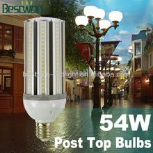 180 degree light output 54W high power LED indoor Corn Bulb led spotlight