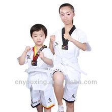 Summer short sleeve taekwondo uniform/taekwondo dobok wtf