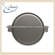 Sgs qualifired Reversible de hierro fundido placa de la plancha