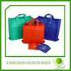 Wholesale nonwoven foldable tote bag with snap closure