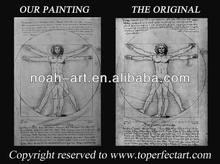 Oil painting reproductions of faous art artist Leonardo Da Vinci