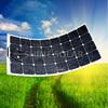 monocrystalline silicon semi flexible solar panel 80W 100W for boat, yacht, caravan, roof