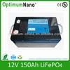 balloon light lithium iron battery 12V 150AH