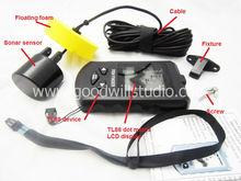 TL58, Sonar fish finder TL58 with Dot Matrix LCD display, Portable Sonar Fish Finder with LCD Display