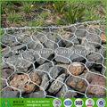 preços baratos de alta qualidade hexagonal malha de arame gabion cesta