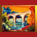 atacado handmade moderno pintura em tela de imagem para casa