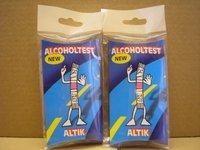 Alcoholtest Altik In Euro Transparent Bag