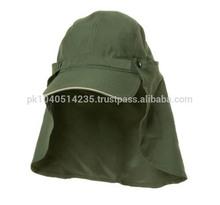 Removable ear flap cap