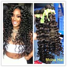 Fast shipping deep wave brazilian hair bundles