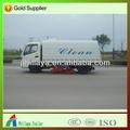 Dongfeng châssis de camion balayeuse 4x2/camion hors route/d'aspiration. véhicules de balayage