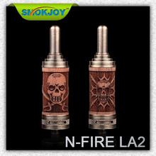 Smokjoy new product N Fire la 2 22mm drip tip atomizer 510 bully atomizer drip tip