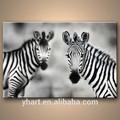Vente chaude récent peinture d'art faits à la main peinture à l'huile d'art de zebra