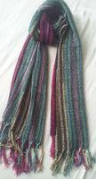 Viscose Wool Multi Stripe