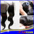 vente en gros de qualité supérieure cheveux vierges brésiliens fermeture invisible fermeture partie