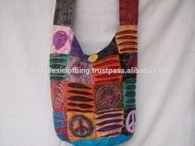 Wholesale Designer Thai Cotton Hobo HIPPIE Sling Bag Crossbody Bag