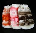 los patrones de tejido de punto para ropa de perro mj1438