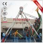 Custom made decorative theme park equipment pirate ship bed