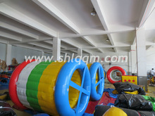 commercial outdoor inflatable water walking roller for sale