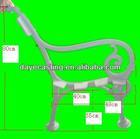 cast iron park bench leg