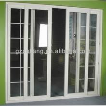 Pretty PVC doors with grill ,PVC door