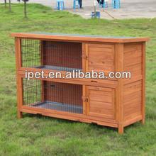 Custom Wooden Rabbit Hutch RH023