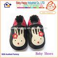 Shenzhen 0-24months unisexe en cuir souple bébé chaussures en cuir