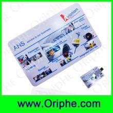 [Super Deal]Card usb, Business usb,plastic, flip, gifts, printing LOGO,USB Flash Drive (UDC0080)