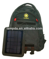 Solar Backpack for reading, touring, camping, or leisure