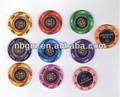 10 g Casino grau areia superfície dos grãos personalizador cerâmica Poker Chips