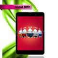 "Ainol bw1/rojo numy 3g ranura para tarjeta sim ips 1024*768 mtk8389 quad core 4.2 androide tablet pc 7.85"" 8g rom de doble cámara de bt gps fm hdmi"