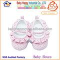 Crianças vestido da menina de prova do patim de algodão conforto sapatos recém-nascido para bebês