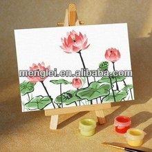 MA246 2014 popular beautiful flower landscape diy digital oil painting be menglei