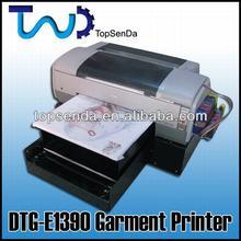 Digital 6 color ink Direct to garment printer