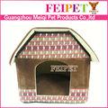 ingrosso peluche personalizzati riscaldata casa di cane di fabbrica