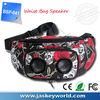 portable musical speaker waist bag for runner