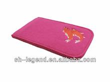 elegant felt phone case for ladies, Reach standard