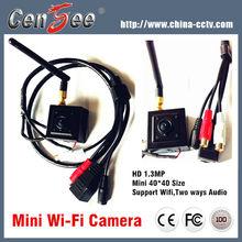 Super Mini Wireless 1.3 MP Hd Pinhole Camera,Ip Camera Wifi,Mini Camera