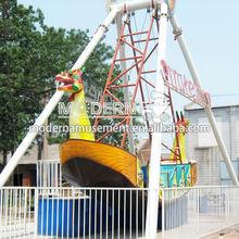 Outdoor park children amusement outdoor pirate ship playset